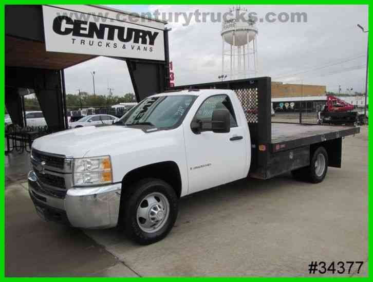 Chevrolet 3500 DRW REGULAR CAB FLATBED (2008)
