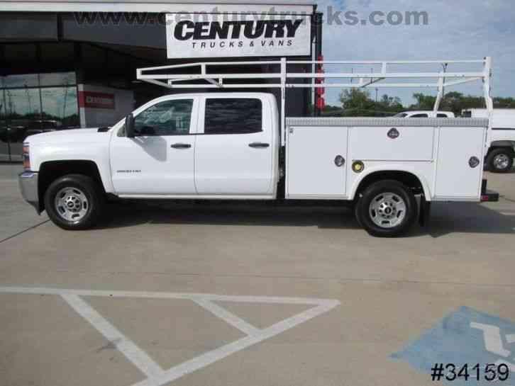 Chevrolet 2500 4X4 CREW CAB UTILITY TRUCK (2015) : Utility ...