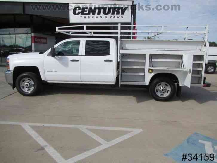 Trucks For Sale In East Texas >> Chevrolet 2500 4X4 CREW CAB UTILITY TRUCK (2015) : Utility / Service Trucks