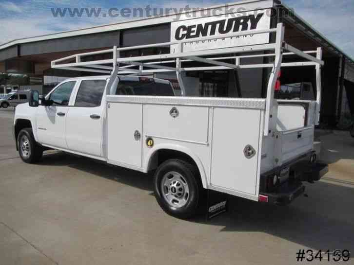 2500 Trucks For Sale >> Chevrolet 2500 4X4 CREW CAB UTILITY TRUCK (2015) : Utility ...