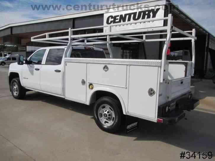 Chevrolet 2500 4x4 Crew Cab Utility Truck 2015 Utility