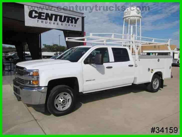 Used Vans For Sale Near Me >> Chevrolet 2500 4X4 CREW CAB UTILITY TRUCK (2015) : Utility / Service Trucks