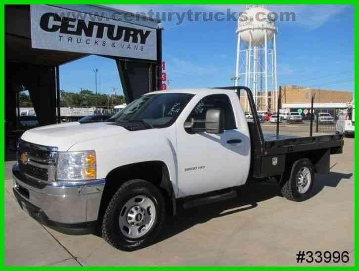 Chevrolet 2500 4x4 Hay Bail Flat Bed 2014 Flatbeds Rollbacks