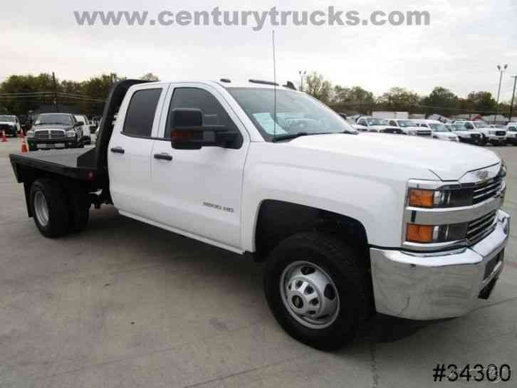 Chevrolet 3500hd Extended Cab Flatbed 2015 Flatbeds