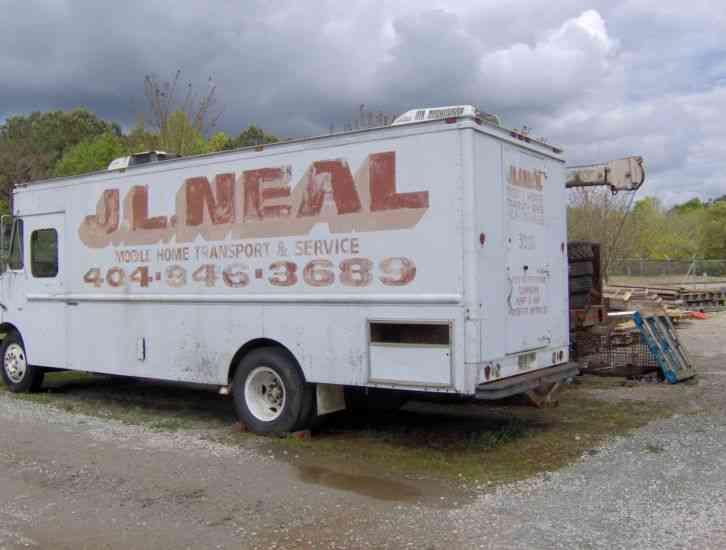 1986 chevy box van