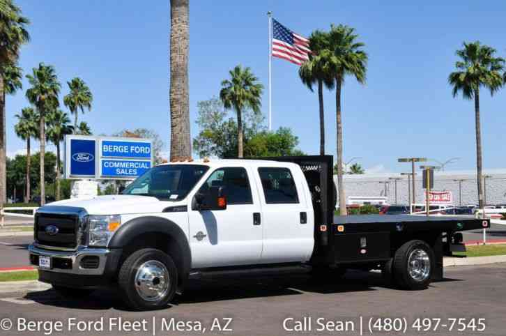 Ford F-450 4WD 12' Flatbed XL 650A (2016)