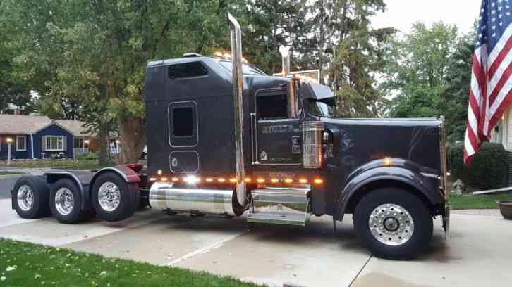 Used Semi Trucks For Sale In Ohio >> Kenworth Long Hood Truck (1970) : Sleeper Semi Trucks