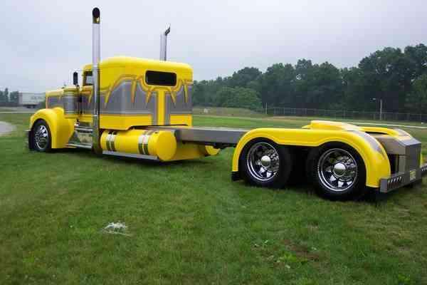 Kenworth Show Truck 1980 Sleeper Semi Trucks
