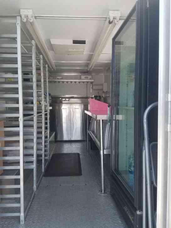 Food Truck Fan Runs On Battery