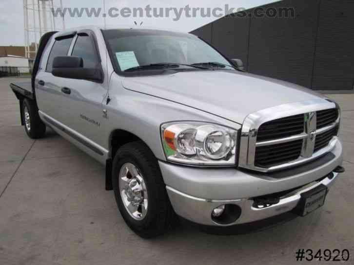 Dodge Ram Truck Bed For Sale >> DODGE 2500 RAM MEGA CAB FLATBED (2006) : Medium Trucks