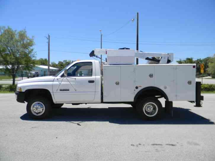 dodge ram   utility service trucks