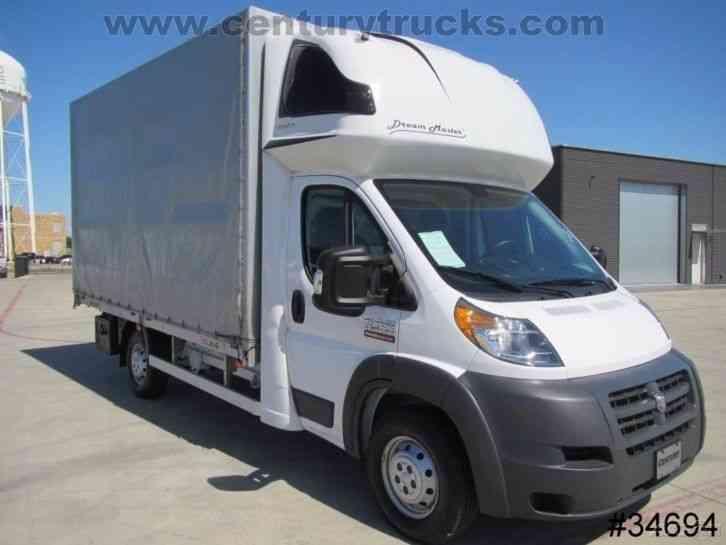 Ram 3500 Promaster 2016 Van Box Trucks