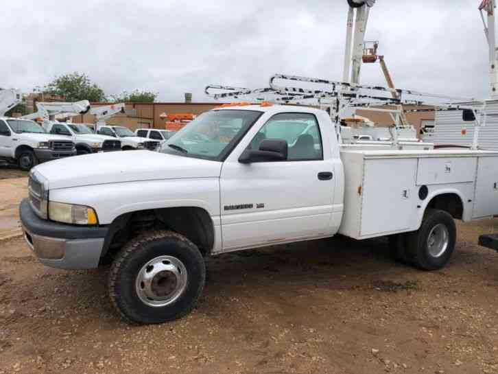 Dodge Ram Truck Bed For Sale >> Dodge Ram 3500 Utility Truck 2001 Utility Service Trucks