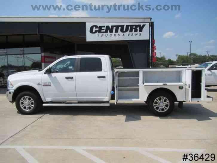 Gmc Truck Beds For Sale >> Dodge Ram 3500 Service Truck (2017) : Utility / Service Trucks