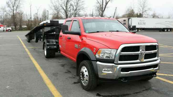 Dodge ram 5500 4x4 diesel and take 3 trailer 2013 for 5500 3
