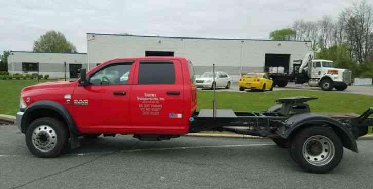 Dodge Ram 5500 4x4 Diesel And Take 3 Trailer 2013