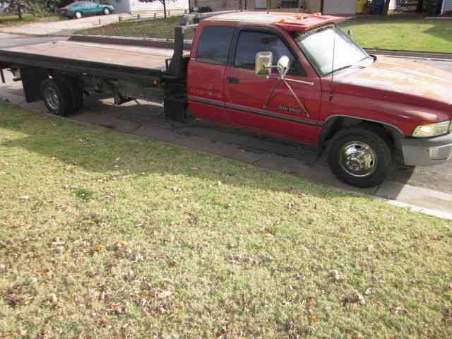 View 1996 Dodge Ram 3500 Flatbed