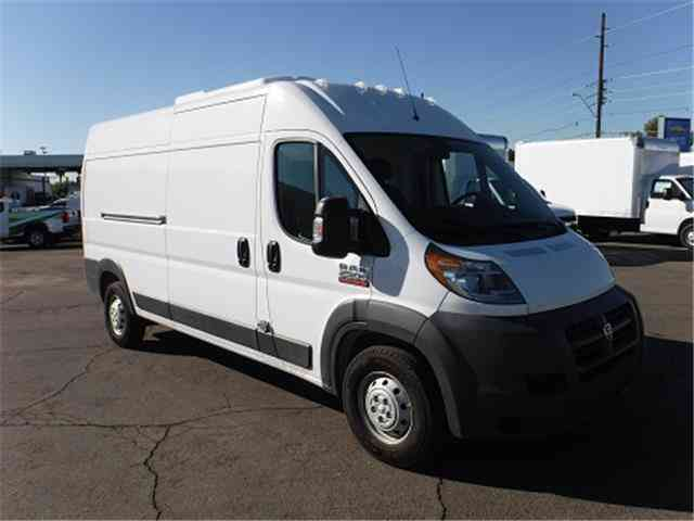 Dodge Work Van >> Dodge ProMaster Cargo Van -- (2017) : Van / Box Trucks