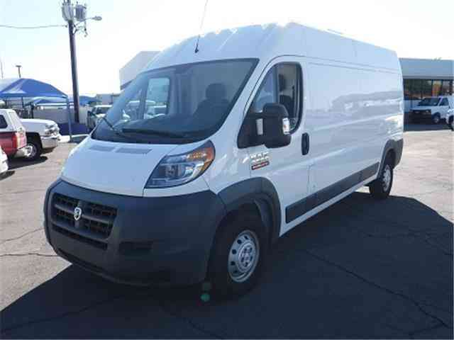 Dodge Ram Promaster High Roof Refrigerated Reefer Cargo Van Truck