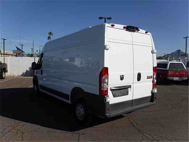dodge promaster cargo van  van box trucks