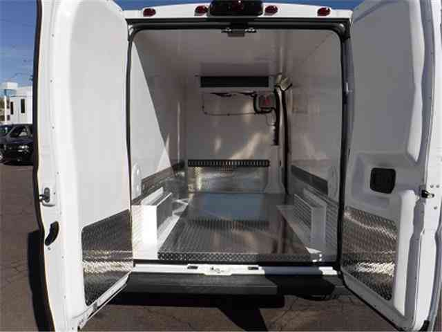 Dodge Ram Promaster High Roof Refrigerated Reefer Cargo Van Truck on Dodge Ram Promaster