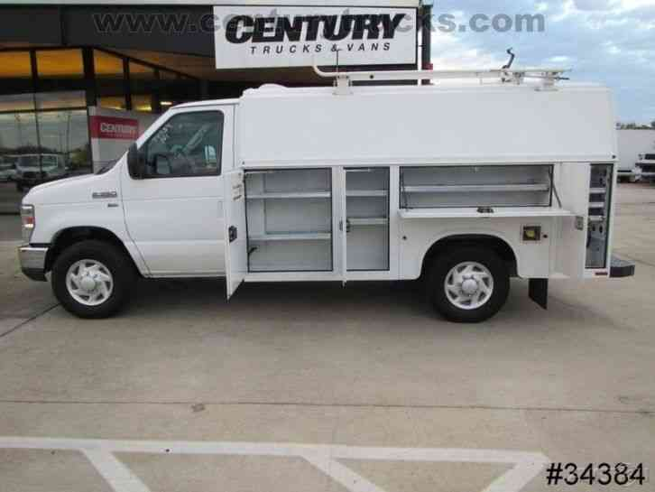 Ford E350 Srw Kuv Utility Van 2011 Utility Service