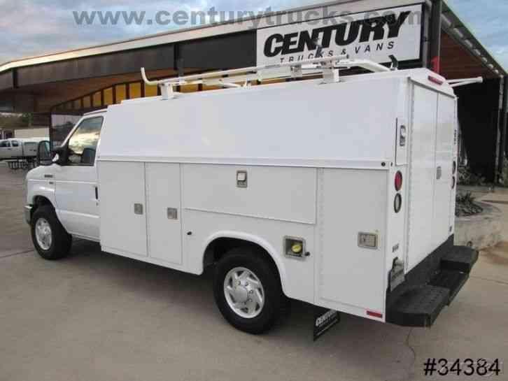 Service Body Locks : Ford e srw kuv utility van service