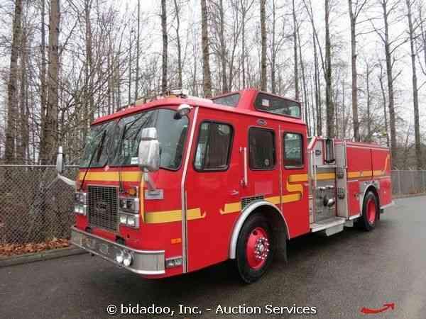 E One Fire 1995 Emergency Amp Fire Trucks