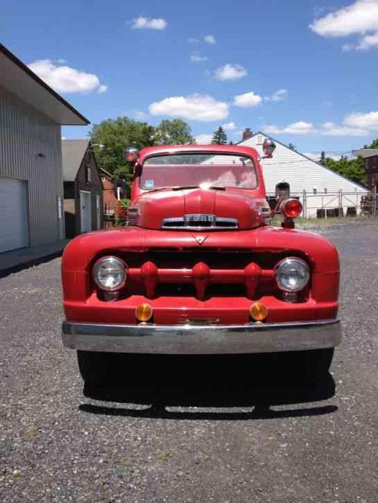 Ford F 7 Big Job 1951 Emergency Amp Fire Trucks