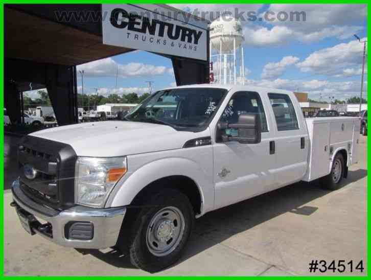 Ford F250 CREW CAB SERVICE TRUCK (2012)