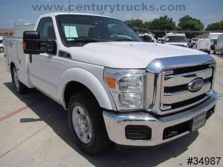 Ford F250 2013 Utility Service Trucks