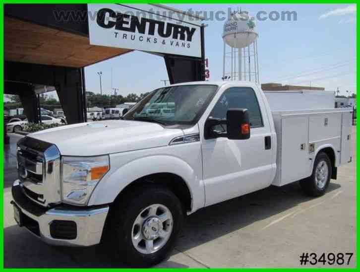 ford f250 2013 utility service trucks. Black Bedroom Furniture Sets. Home Design Ideas
