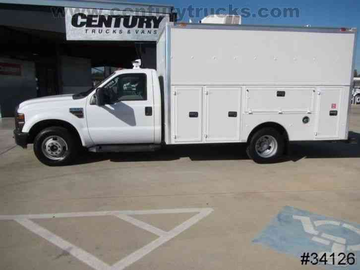 Ford F350 Drw Kuv Service Body Utility Truck 2008
