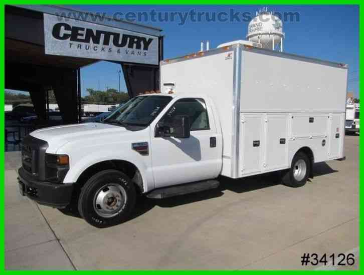 Ford F350 DRW KUV SERVICE BODY UTILITY TRUCK (2008)