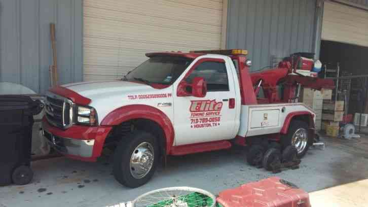 Ford F-450 Chevron wrecker bed (2006)