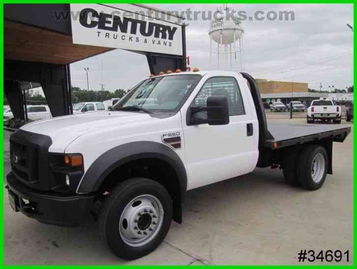 Ford F550 REGULAR CAB FLAT BED (2008)
