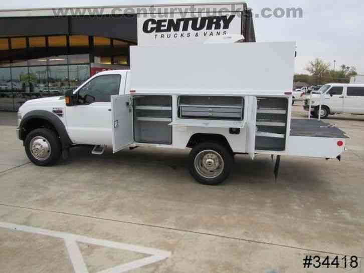 Vehicle Strobe Lights >> Ford F550 REGULAR CAB UTILITY TRUCK (2009) : Utility ...