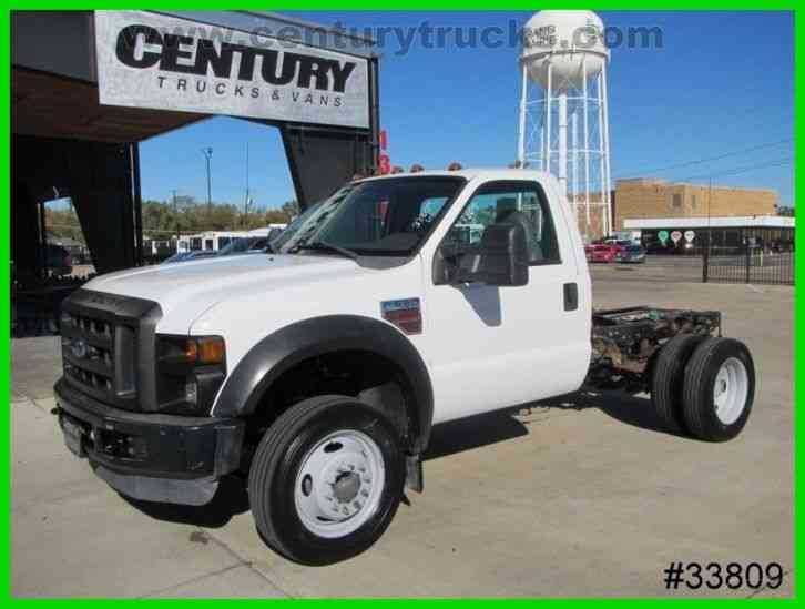 Ford F550 Cab And Chassis  2008    Flatbeds  U0026 Rollbacks