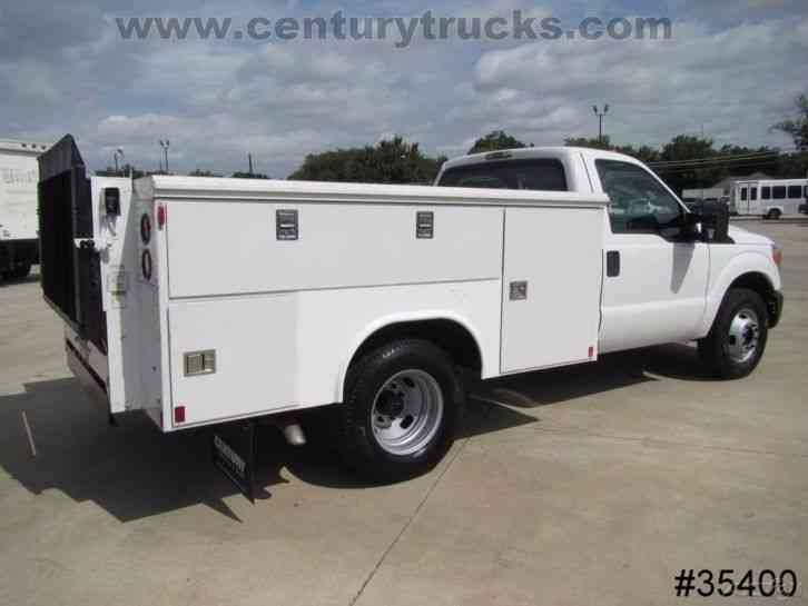 Reading Utility Body >> FORD F350 DRW (2011) : Utility / Service Trucks