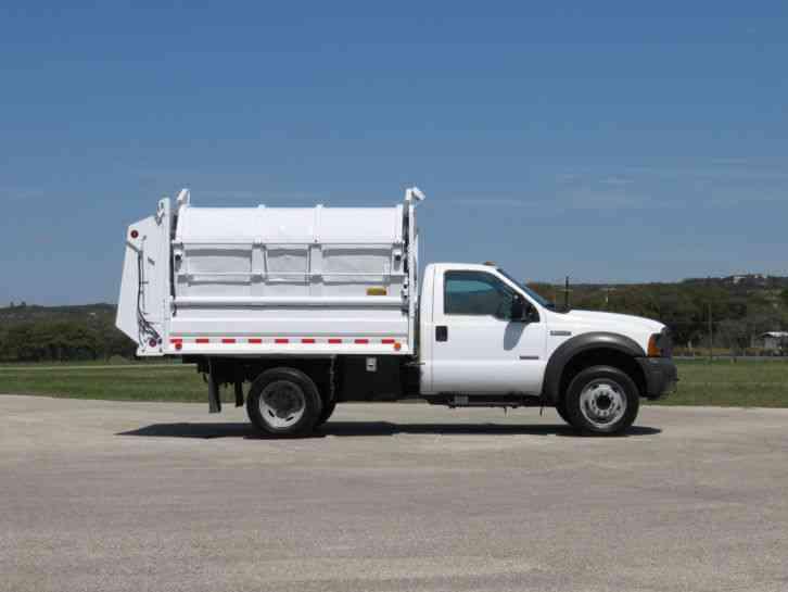 Ford Haul All Satellite Side Loader Refuse Trash Truck