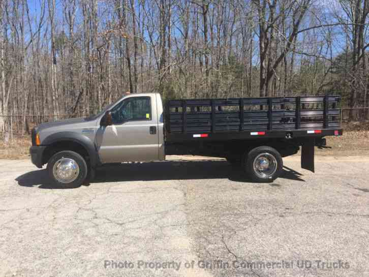 Ford F450 RACK JUST 22k MILES ONE OWNER SUPER CLEAN READY TO WORK!! 6. 8 TRITON (2006)
