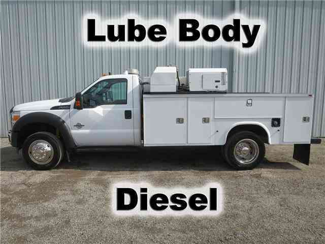 Ford Super Duty F-550 XL 11FT UTILITY SERVICE LUBE TRUCK (2012)