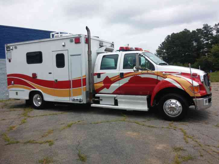 Ford F 650 Taylor Made Ambulance 2008 Emergency Amp Fire