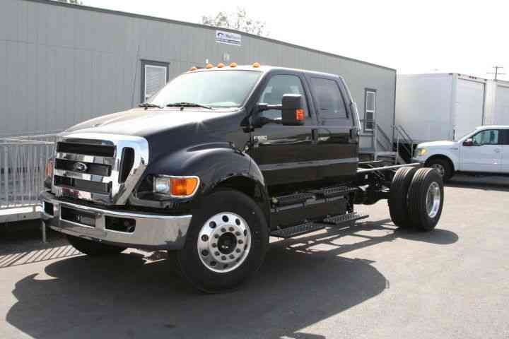 ford f650 crew cab put a bed or make a monster truck you name it 26 000 gvwr under cdl. Black Bedroom Furniture Sets. Home Design Ideas