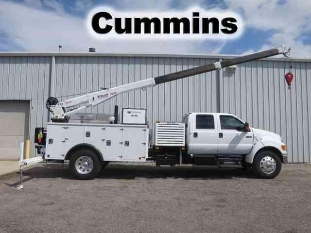Crane Truck For Sale >> Ford F 650 Service Crane Truck 2011