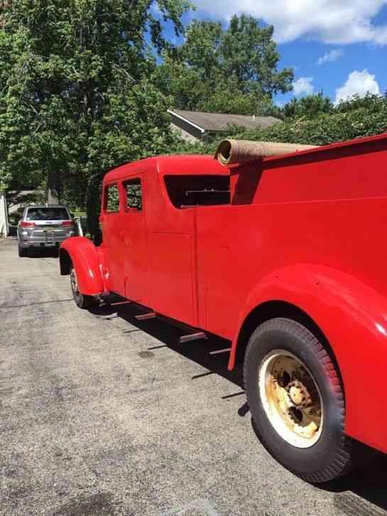 Buffalo Buffalo Pumper (1948) : Emergency & Fire Trucks