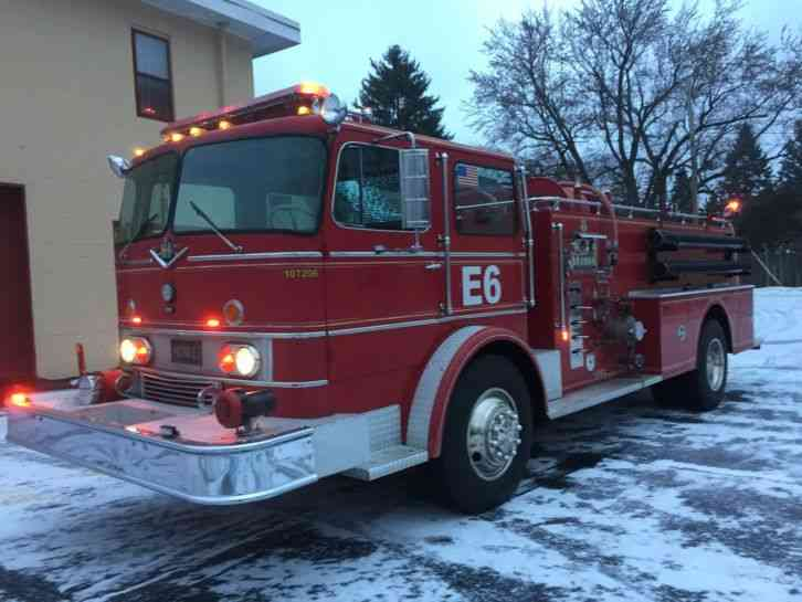 Ford F350 1977 Emergency Amp Fire Trucks