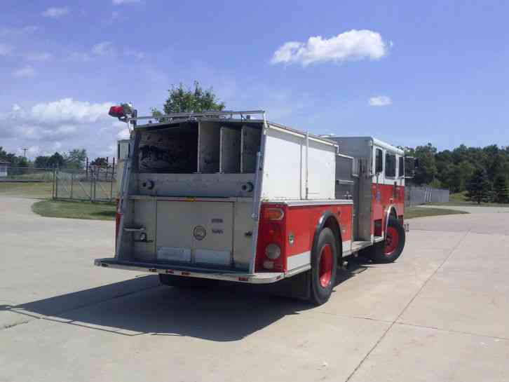Seagrave Fire Apparatus >> Seagrave Custom Pumper (1989) : Emergency & Fire Trucks