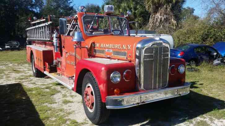 Ward Lafrance Pumper Firetruck 1958 Emergency Amp Fire