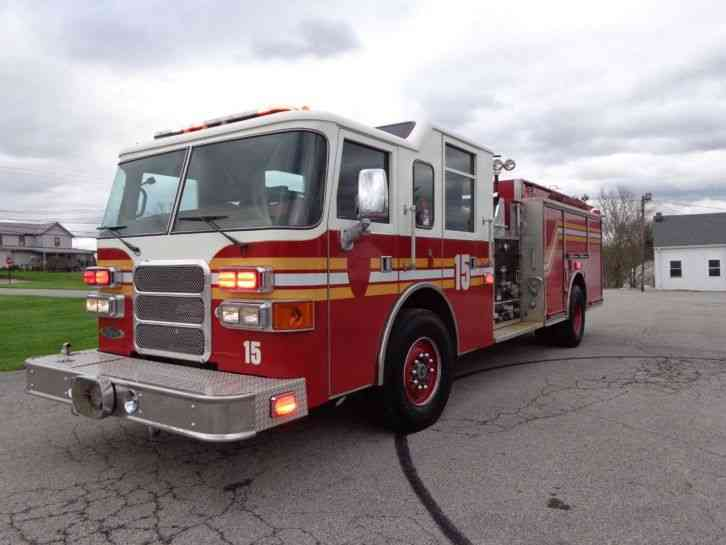 Pierce 2002 Emergency Amp Fire Trucks